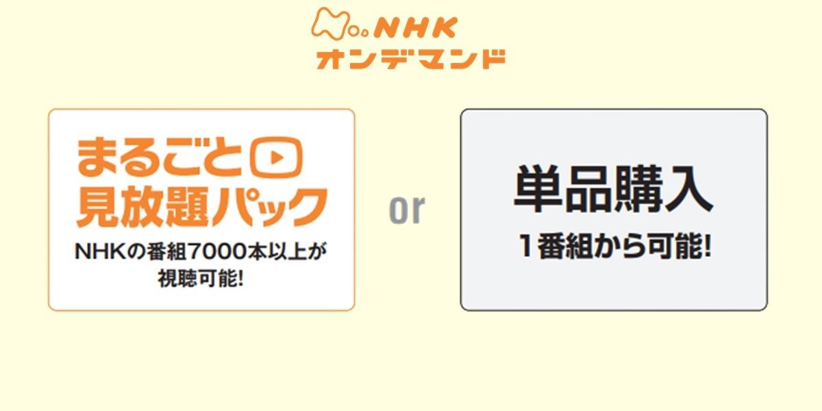 100分de名著「論語と算盤」の動画配信サービス「NHKオンデマンド」の料金プラン