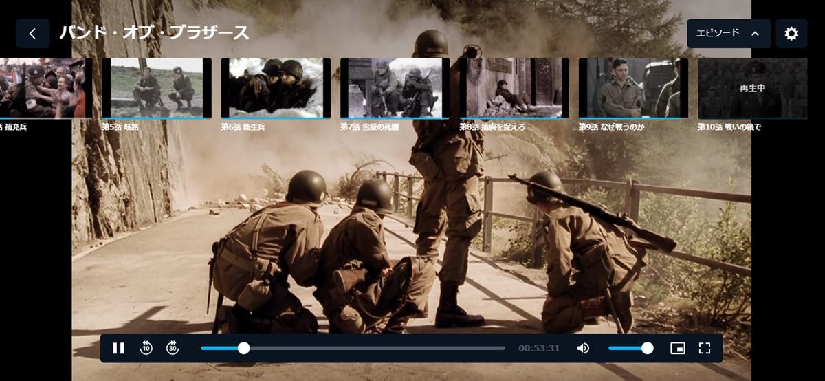 HBO戦争ドラマ「バンド・オブ・ブラザース」動画配信を無料で見る方法